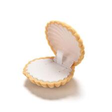 EG_ Shell Velvet Gift Box Ring Jewelry Display Bag Earing Storage Case Convenien