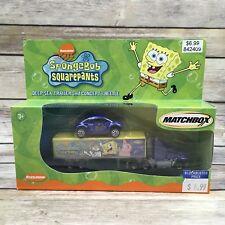 2002 Matchbox SpongeBob Squarepants Deep-Sea Trailer and Concept I Beetle