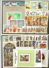 TOGO TIMBRES NEUFS ** THEME PAQUES RELIGION PAPES ECT.. COTE € 96