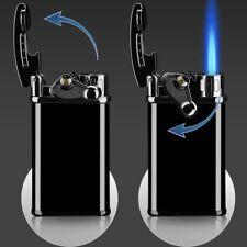 click flick lighter jet blue butane flame gadget