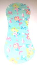 Burp Cloth (1) - mermaids (BC61)