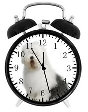 Old English Sheepdog Alarm Desk Clock Nice For Decor or Gifts F138
