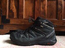 Men's Salomon X Ultra 3 Mid GTX Gore-Tex Trekking Boots 10UK Black/ Grey