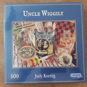JUDY KOENIG:  UNCLE WIGGILY: 500 PIECE JIGSAW NEW AND SEALED