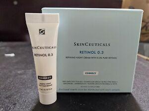 Skinceuticals Retinol 0.3 Sample Travel Size 10 tubes New