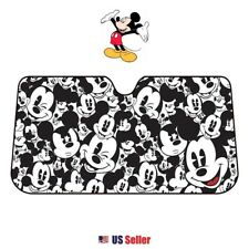 NEW Disney Mickey Minnie Mouse Car Windshield Sun UV Protection Sunshade:Mickey