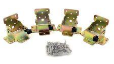 4 Pcs - Lock Extension Table Bed Leg Feet Steel Folding Foldable Support Bracket