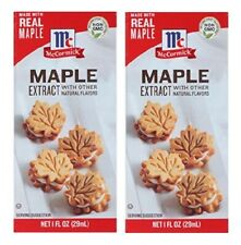 McCormick Maple Extract 2 Bottle Pack