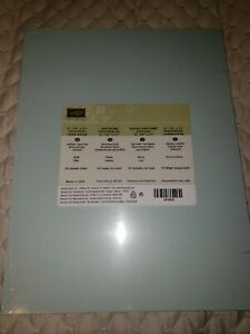 SOFT SKY cardstock Stampin Up 8.5 X 11 -Comb Ship Disc Available
