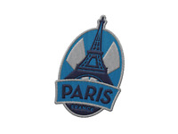 Paris France Iron On Travel Patch - Eiffel Tower