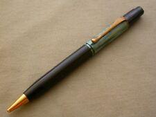 VTG AUCH PELIKAN 200 BLACK / GREEN PENCIL 40'S D.R.P. / EXCELLENT/ STRIPED CLIP