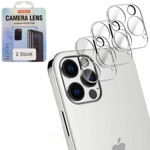 2x iPhone 13 / Mini / Pro / Max Kamera Schutz Folie Panzerfolie Hart-Glas Linse