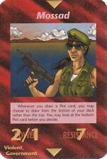 ILLUMINATI NEW WORLD ORDER CARD VIOLENT MOSSAD