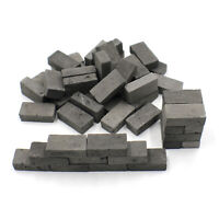 1/12 Miniature Clay Bricks for Model Stones Walls, Floors and Dollhouses