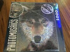 Photomosaics Grey Wolf Jigsaw Puzzle Bgi Robert Silvers New Sealed