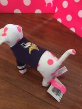 VICTORIA'S SECRET DOG PLUSH NFL MN VIKINGS FOOTBALL SHIRT VICTORIAS SECRET NWT
