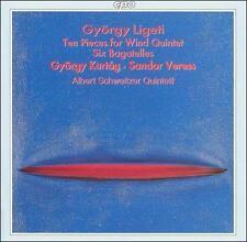György Ligeti: Ten Pieces for Wind Quintet; Six Bagatelles, New Music