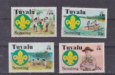 tuvalu 1977 Sc 50/3,scouting,..set     q203