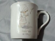 Precious Moments Coffee Mug God Makes All Things