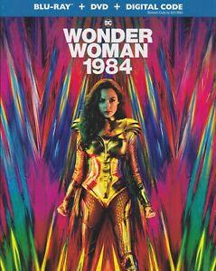 WONDER WOMAN 1984 BLURAY & DVD & DIGITAL SET with Gal Gadot & Kristen Wiig