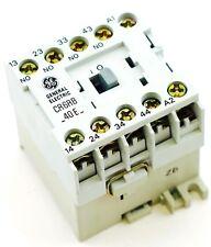 GE Miniature Din Rail Magnetic Contactor CR6RB40EM 48VDC Coil CS4C-40E-48D 4NO