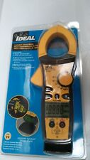 "Clamp On Digital Clamp Meter  2"" Jaw Capacity CAT IV 600V Multimeter Inspection"
