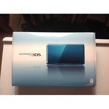 Nintendo 3DS Aqua Blue Portable System Very Good