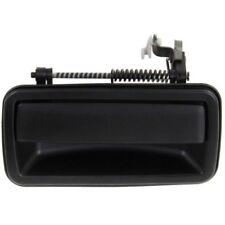 For Blazer 95-05, Rear, Driver Side Door Handle, Smooth Black, Plastic