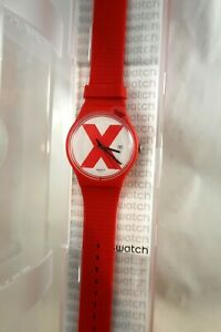 SWATCH  XX Rated Red SUOR400 Mint in Box 2018