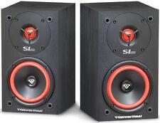 Cerwin Vega Bookshelf Speakers Pair SL5M 2-Way 125 Watts New