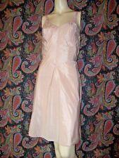 Vintage Sears Rose Taupe Swishy Taffeta Princess Slip Lingerie 34