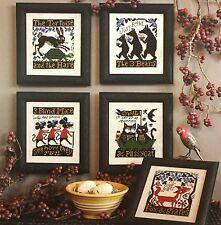 Fables & Tales Nursery Prairie Schooler Cross Stitch Pattern Book 187
