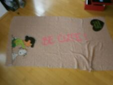 Designer Codello Damen Tuch Schal We love Peanuts & Codello rosa braun 180 x 95