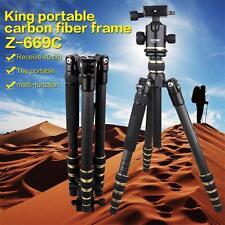 Z669C Trípode con rotula para cámaras DSLR altura máxima 1.5m carga máxima 17kg