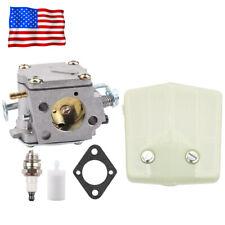 Carburetor Carb Fuel Air filter Kit For HUSQVARNA 61 268 266 272 XP Chainsaw USA