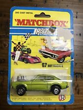 1973 MATCHBOX Rola-Matics by LESNEY 67 Hot Rocker Unused in Blister Pack