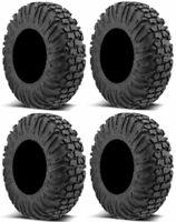 Full set of 4 EFX MotoVator (8ply) DOT Radial ATV UTV Tires 30x9.5-14R