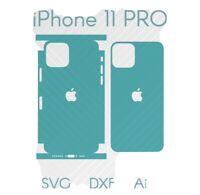 iPhone 11 Pro Full Wrap Skin Cutting Template AI DFX SVG Download  Cricut