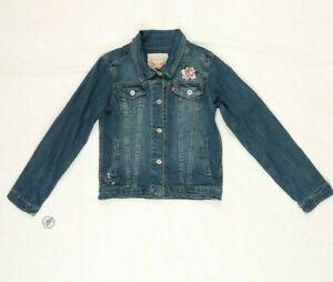 Veste De Jeans Levi's Taille: L Utilisé (Cod.EBAY89) en Fabriqué Chine Enfant