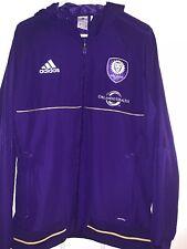 Orlando City S.C MLS Adidas climalite WIndbreaker Jacket Adult Size L Large