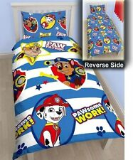 Paw Patrol Pawsome Reversible Single Duvet Set Bedding