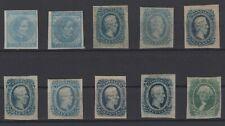 G138177/ USA – CONFEDERATE STATES / COLLECTION 1862 - 1864 MH CV 274 $