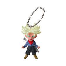 Dragon Ball Super Mascot Swing PVC Keychain SD Figure Saiyan~Future Trunks @6526