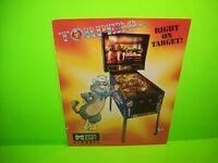 Data East TORPEDO ALLEY Original Flipper Arcade Game Pinball Machine Flyer 1988
