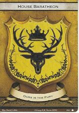 3 x House Baratheon Faction Card Banner of the Stag AGoT LCG 2.0 Game of Thrones