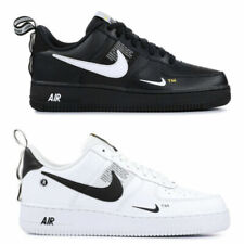 air force 1 bianche baffo nero