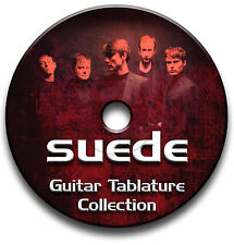 SUEDE INDIE ALTERNATIVE BRITPOP ROCK GUITAR TABS TABLATURE SONG BOOK SOFTWARE CD