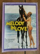 Dossier de Presse Melody IN LOVE Hubert FRANK Melody O'BRYAN érotique