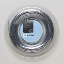 New Luxilon Alu Power 16L/1.25mm tennis string, 330ft. mini reel, Silver