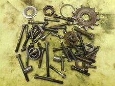 1990 Yamaha YZ125 Odd hardware parts lot nuts case bolts etc. 90 YZ 125